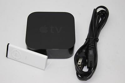 Apple TV 4th Generation 32GB HD Media Streamer MGY52LL/A - A1625 (Remote shown)