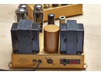 WANTED - Two Valve Power Amplifiers for Repair or Restoration