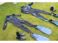 Scuba Diving Equipment - Excellent Condition - Couples Bundle - Bargain £180 ono!
