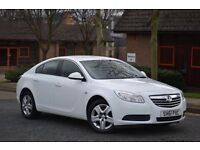 2011 Vauxhall Insignia cdti 16v exclusive 6 speed WHITE hpi clear Vosa verified full service