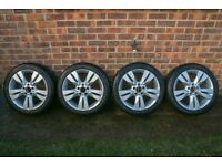 Mercedes Winter Wheels and Tyres W204 C-Class