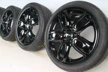 MINI Zomerbanden F55 F56 F57 18 inch JCW Cup Spoke 2-Tone