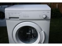 CURRYS ESSENTIALS 5KG WASHING MACHINE IN GOOD CLEAN WORKING ORDER & PAT TESTED