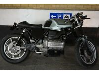 BMW K75 CAFE RACER - STUNNING PROFESSIONAL BUILD - FSH - K100 / R100