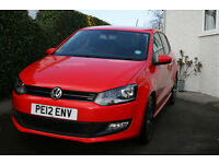 VW POLO 1.4 MATCH, low miles, FSH, long MOT, new tyres, lovely, clean economical car.