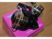 Daiwa rods, reels, greys rod reel assortment of new lures with box and loads of trout flies
