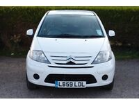 White Citroen C3 1.4 HDi Airdream in excellent condition 8v 5dr