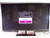 """LG 50"""" 3D Smart TV with Remote & 3D Glasses, Model 50PB690V - 0306057"""