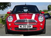 Won Best BMW Mini at Capesthorne Hall 2011, 1.6 Petrol, Manual, Chilli Pack, Red, FSH.