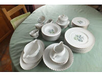 Bavarian China Royal Tettau 53 pc set.