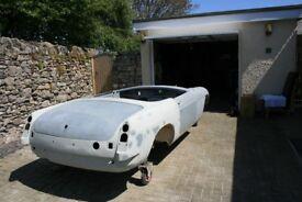 MGB Roadster part restored