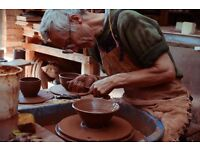 Potters Wheel Weekend Pot Throwing Classes *Clay to Kiln* *Pottery* *Ceramics*