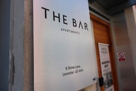 One bedroom Apartment, open plan available from late July 2021, The Bar!
