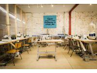 Fashion + Textiles Studio - £26 per day