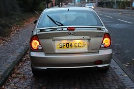 2004 Hyundai Accent 1.3 CDX, MILEAGE 44K ONLY(Low Insurance)£699