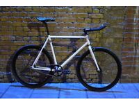 Christmas sale!!! Steel Frame Single speed road bike track bike fixed gear racing fixie bicycle tty
