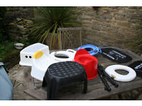 For Sale-Collection of Potties and childs toilet training seats