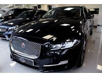 Chauffer / Wedding / car hire Jaguar XJ Portfolio LWB