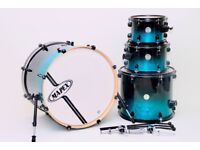 "Mapex Horizon Drum Kit Blue 4 Piece Shell Pack 22"" 10"" 12"" 16"""