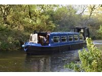 "Easter Bunny Boat Trips on Narrowboat ""Bluebell"""