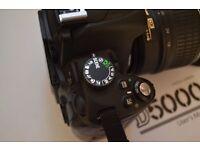 Nikon D5000 + VR Lens
