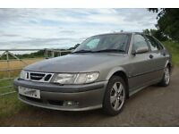 Saab 9-3 SE Petrol Turbo 2001, Hatchback, Manual FSH