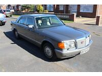 MERCEDES 420SE 1989 AUTO 93K MILES AIRCON DRY USE ONLY LAST 13 YEARS LEATHER INTERIOR ALLOYS NO RUST
