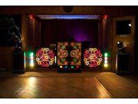Complete retro disco decks screens speakers records all for sale
