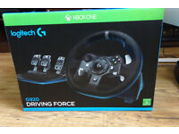 Xbox one steering wheel Logitech G920