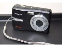 Hitachi HDC-886E 8.0 MP Digital Camera - Black