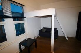 Studio style double room in a newly refubised house