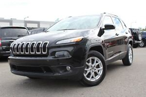 2014 Jeep Cherokee NORTH PLUS 4X4 *SIEGES CHAUFFANT/HITCH/V6*
