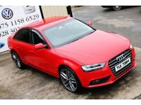 LATE 2012 AUDI A4 2.0 TDI 141 BHP 4DR SALOON ** BLACK EDITION SPEC**( FINANCE & WARRANTY )