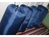 Sleeping Bags x 4 Singles Light Weight