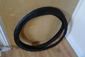 Mountain Bike Tyres Brand New 26 x 1.95 TWO Tyres Can Deliver Free If Local
