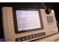 Akai S6000 V2 sampler fully loaded with huge sample library