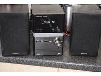 PANASONIC DAB RADIO/USB/CD/IPOD DOCK 70W DAB ANTENNA/CANSEEWORKING