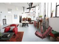 Unique Industrial East London Loft - For Film Location/Shoots/Fashion/Events/Exhibitions...
