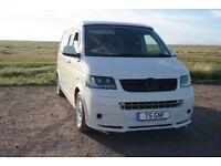 Vw transporter t5 camper van, recent conversion