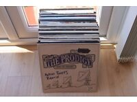 """Collection of 70+ records, Daft Punk, Pendulum etc. Mainly dance 12""""s, some DnB, breaks, other."""