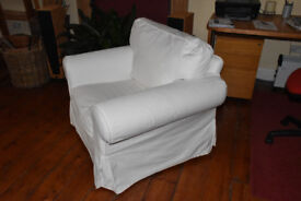 IKEA Ektorp armchair in v. gd condition.