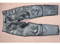 akito leather trousers