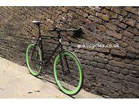 SALE ! GOKU cycles Steel Frame Single speed road bike TRACK bike fixed gear bike racing bike Q12