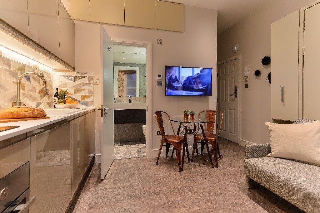 Light Studio Apartment + bills included !! 10 minutes on tube from Baker Street