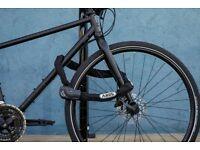 ABUS 1060/140_Black Chain Bicycle Lock, Black, 140 cm