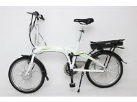 GREENWAY Folding electric bike, Samsung cell lithium battery LCD, PAS system £785