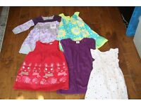 Bundle girl's clothes 4 years old, used, good condition, 21 items, monsoon, mini boden, vertbaudet