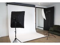 Photo Studio (with lights and backdrops) in Notting Hill, Central London