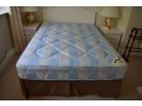 Double Bed, Divan, Mattress and Head board. Literally hardly used in guest bedroom