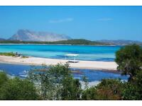 Holiday house by the sea in Sardinia San Teodoro self catering
